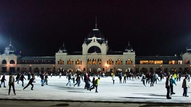budapesti korcsolyázás