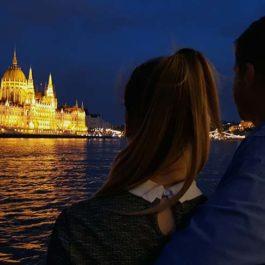 romantikus hajózás a dunán